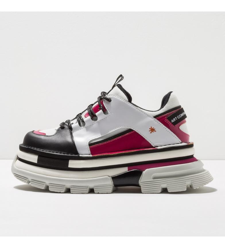 Comprar Art Sapatos de couro 1640 Art Core 2 branco, rosa, preto -Altura da plataforma: 6,5cm