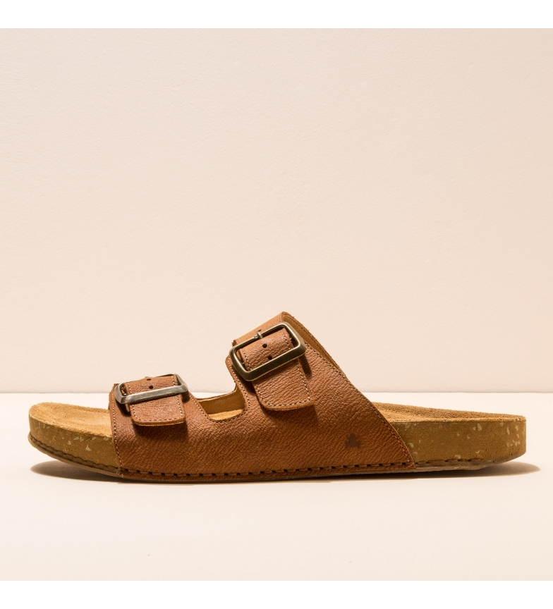 Comprar EL NATURALISTA Sandales en cuir N5794 Balance marron