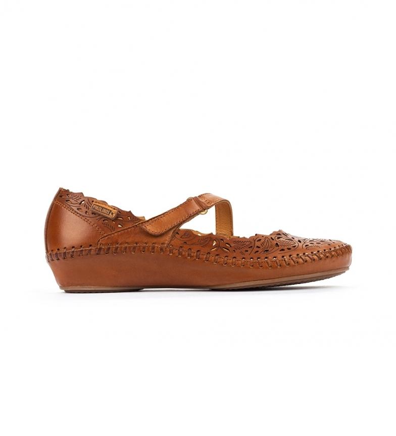 Comprar Pikolinos Leather sandal P. Vallarta 655-0898 brown.