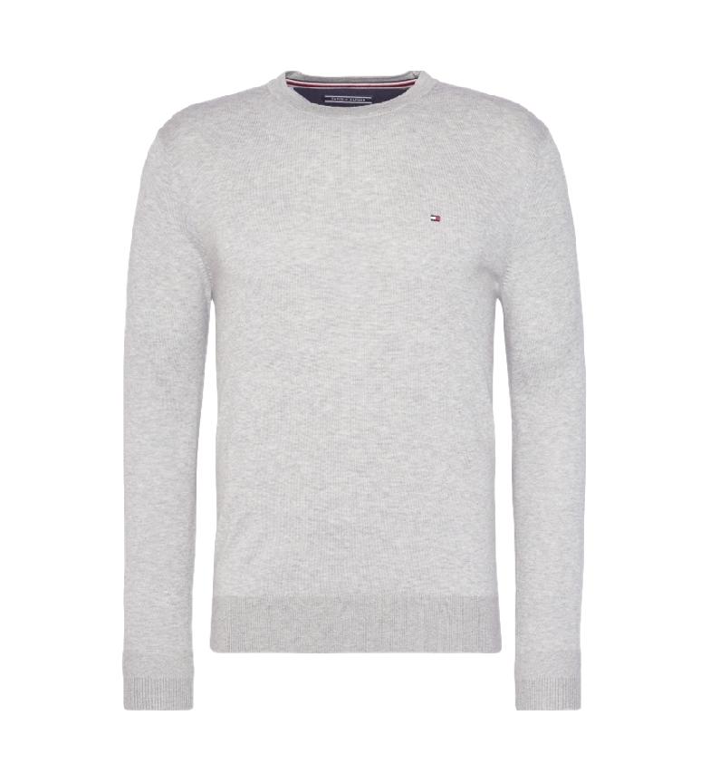 Comprar Tommy Hilfiger Jersey Core Cotton-Silk Cneck blanco