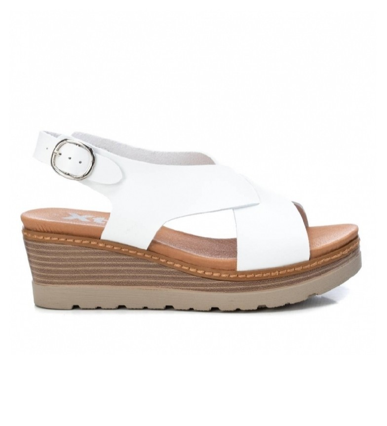 Comprar Xti Sandals 042232 white -Height wedge: 6 cm