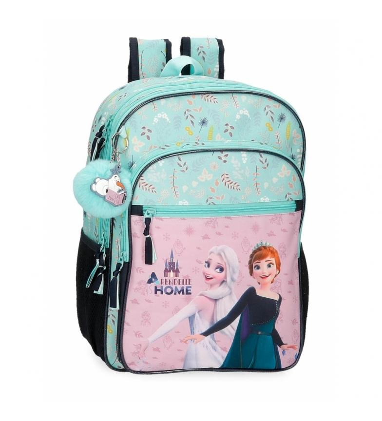 Joumma Bags Arandelle Congelada é Home Adaptable School Backpack azul -30x40x13cm