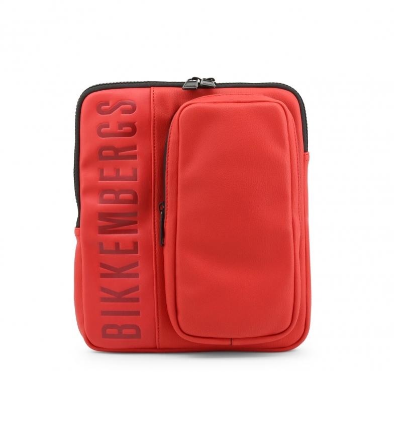 Comprar Bikkembergs Saco de ombro para homem E91PME560022 vermelho 23x27x5cm