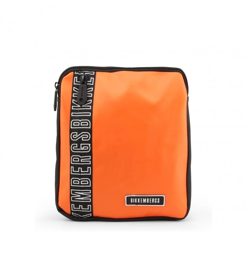 Comprar Bikkembergs Bandolera cruzada E2APME170032010 naranja 23x27x3cm