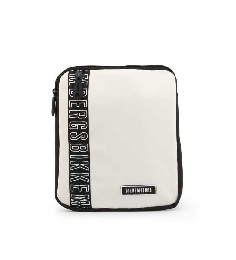 Comprar Bikkembergs Saco de ombro cruzado para homem E2APME170032010 branco 23x27x3cm