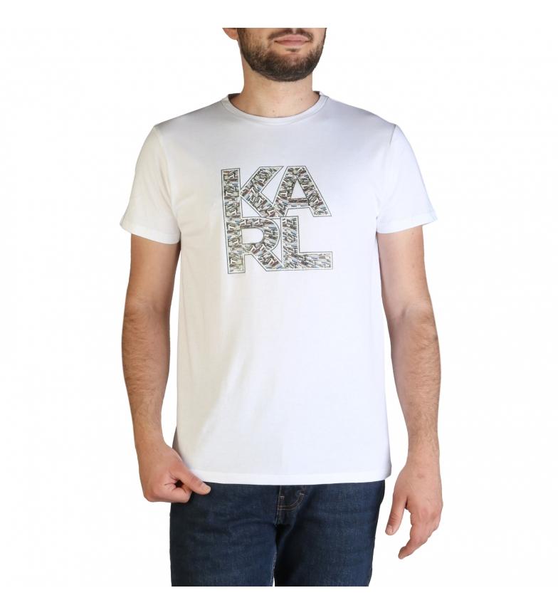 Karl Lagerfeld T-shirt bianca KL21MTS01