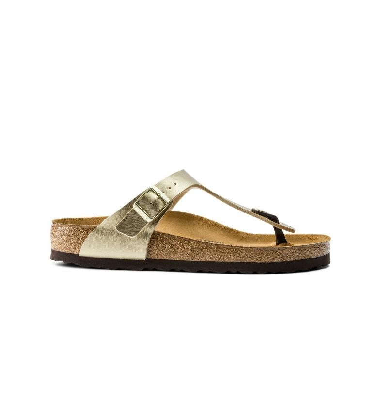 Birkenstock Sandals Gizeh gold
