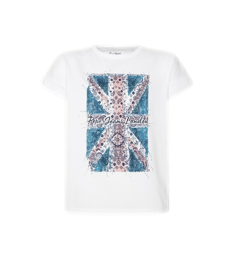 Comprar Pepe Jeans T-shirt Peggy branca