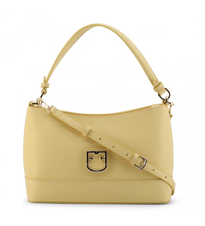 Comprar Furla Leather handbag HARPER_WB00063 yellow -30x19x9cm