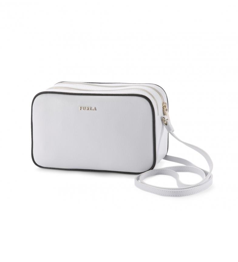 Comprar Furla Leather shoulder bag LILLI_EK27LIL white -20x12.5x6.5cm
