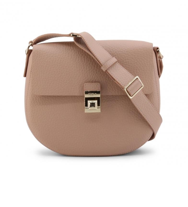 Comprar Furla Leather shoulder bag GLENN_BWK0GN0 pink -25x21.5x5cm