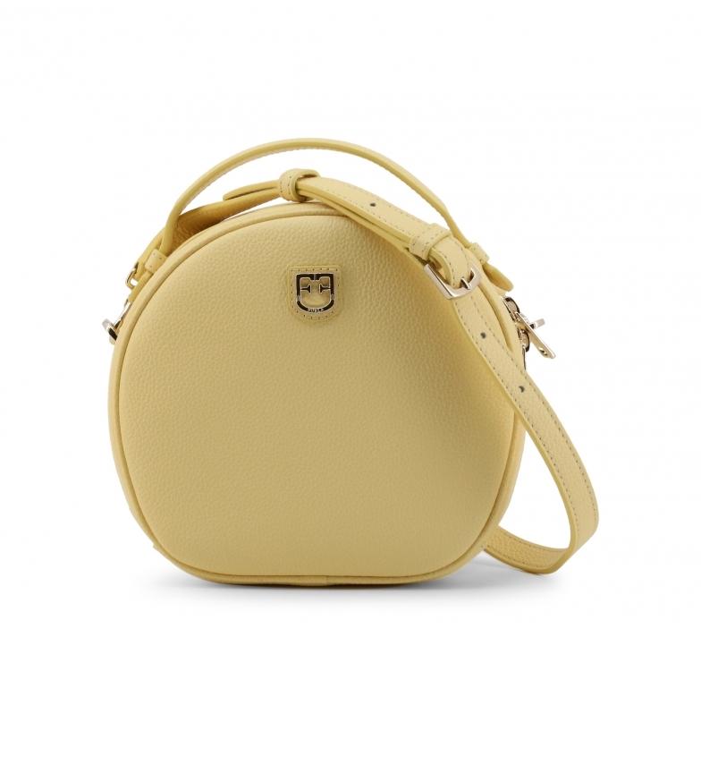 Comprar Furla Bolso de mano de piel DOTTY_WB00107 amarillo -19x18x8cm-
