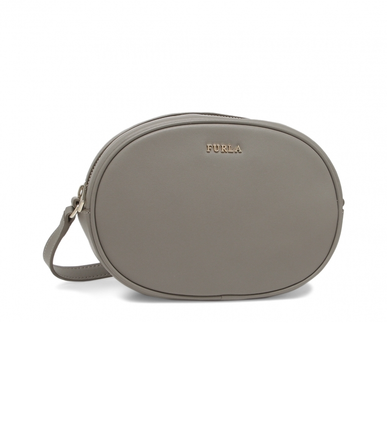 Comprar Furla Leather shoulder bag CARA_EAU2CRA grey -20.5x14x7cm