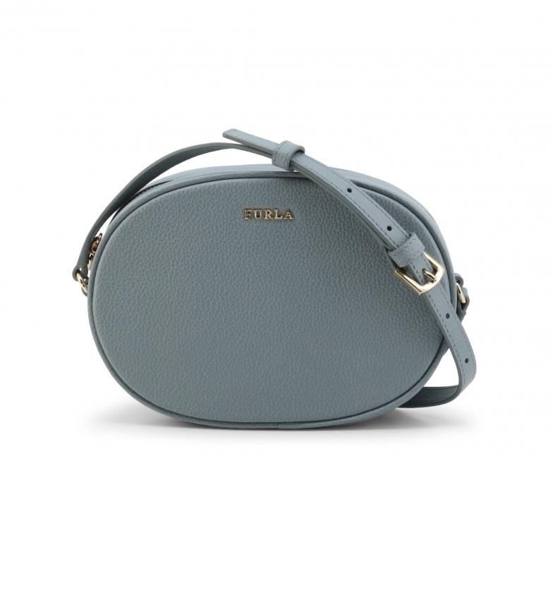 Furla Leather shoulder bag CARA_EAU2CRA blue -20.5x14x7cm