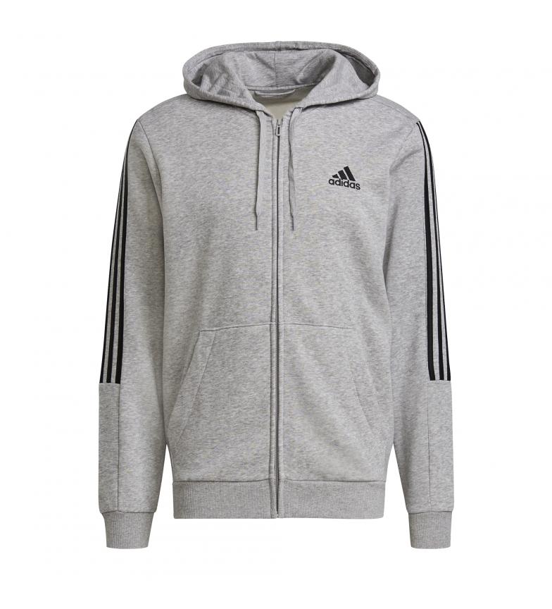 Comprar adidas Sweatshirt Essentials Fleece Cut 3 Stripes gris