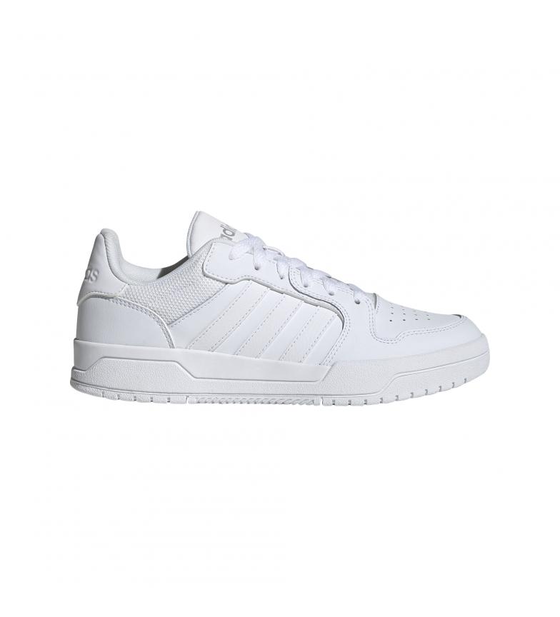 Comprar adidas Sneaker Entrap in pelle bianca