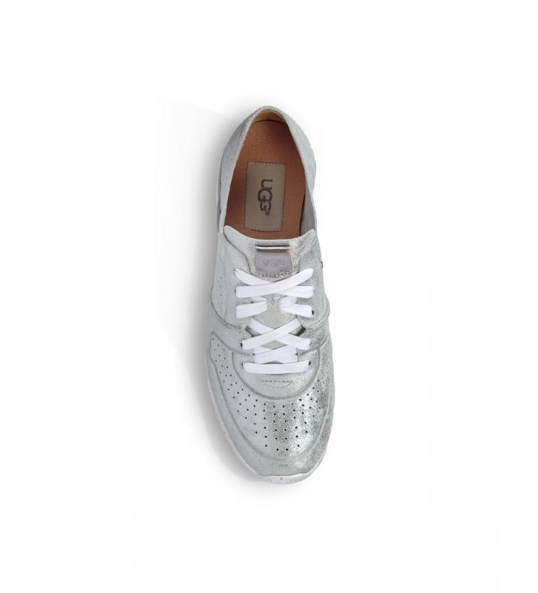 Comprar UGG Leather sneakers W Tye Stardust silver