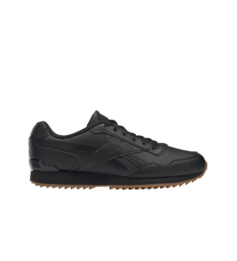 Reebok Royal Glide Ripple Clip sapatos pretos