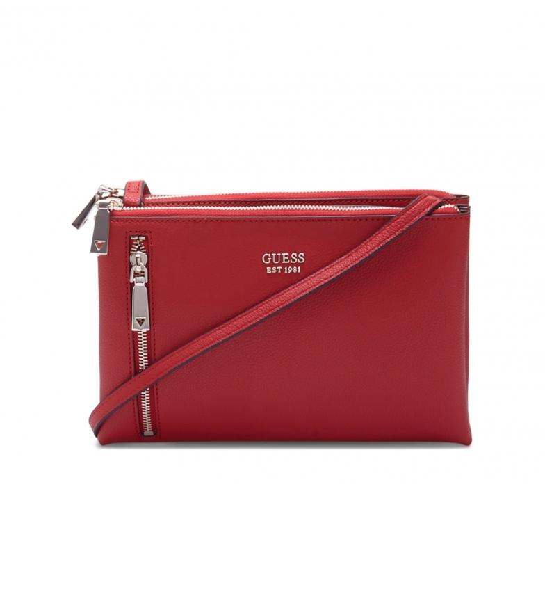 Comprar Guess Borsa a tracolla Naya_HWVG78_81700 rossa -26x17x3.5cm-
