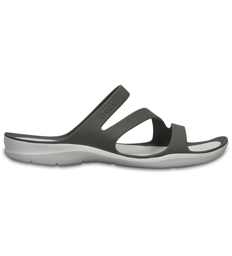 Crocs Infradito Swiftwater Sandal W grigio, bianco