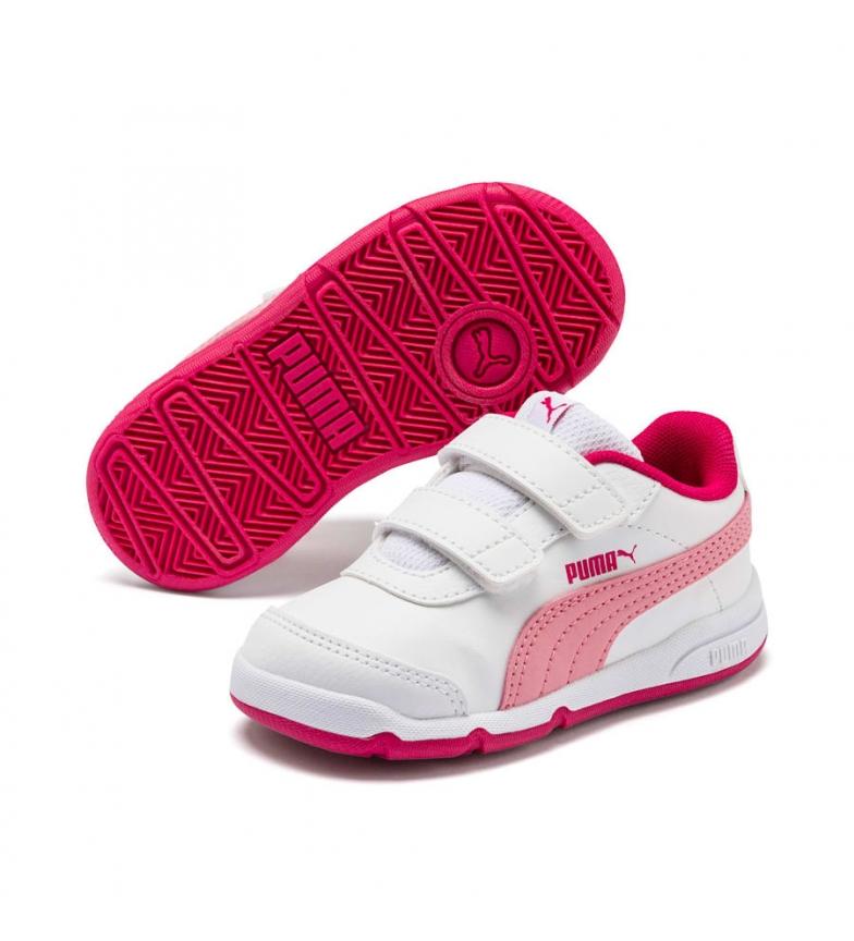 Puma Scarpe Stepfleex 2 SL VE V Inf bianco, rosa