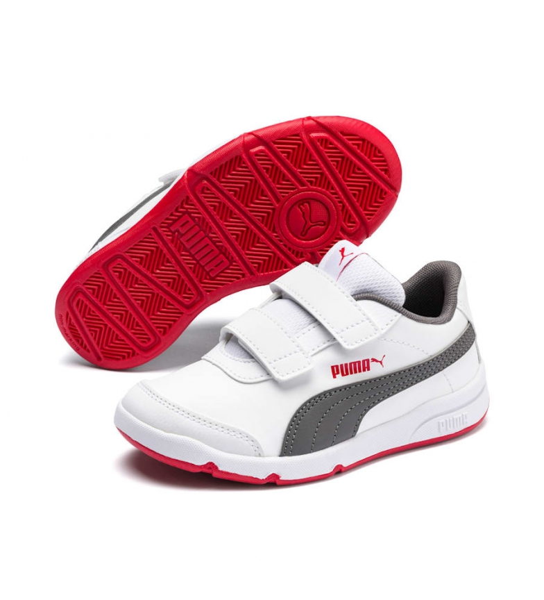 Puma Stepfleex 2 SL VE V PS chaussures blanches