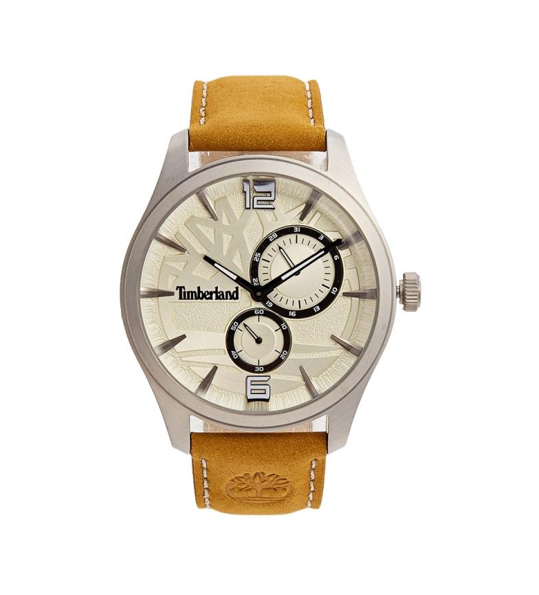 Timberland Analogue leather watch  15639JS brown