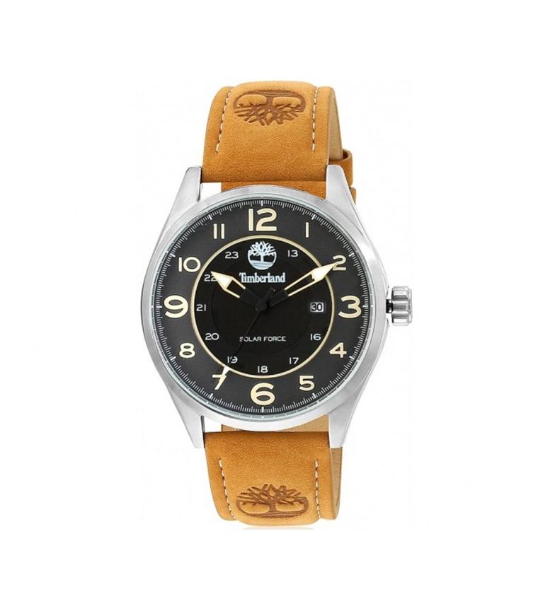 Timberland Analogue leather watch 15254JSB mustard