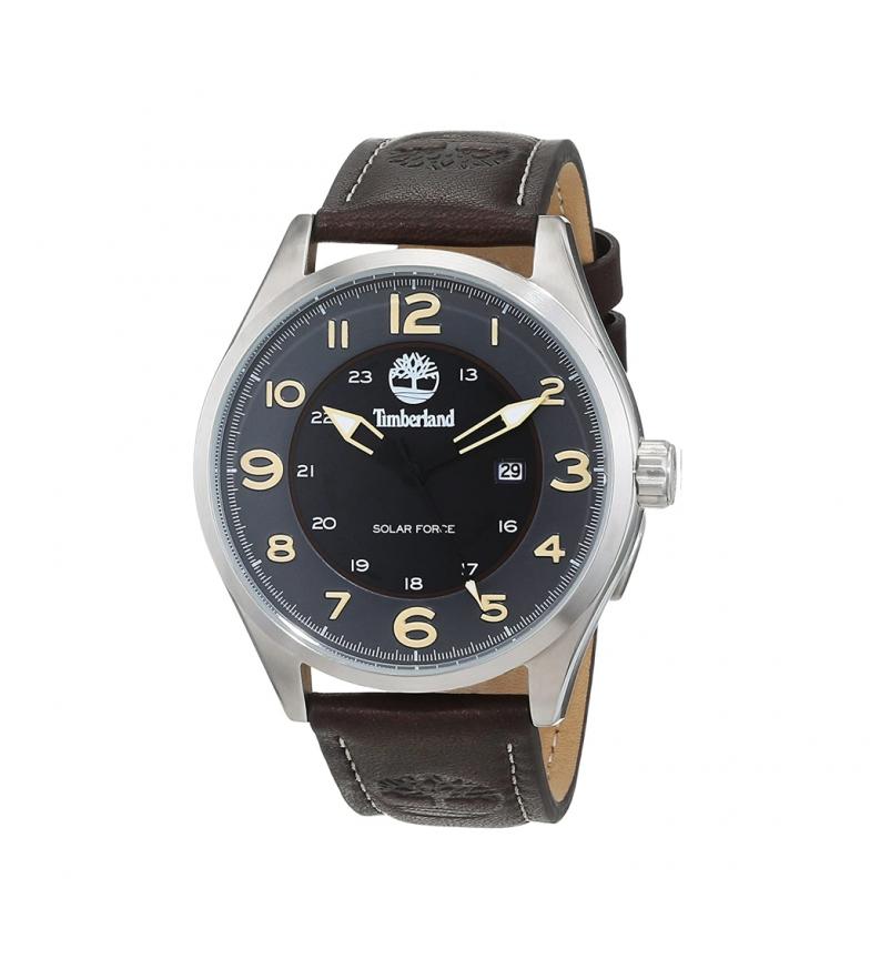 Timberland Analogue leather watch 15254JS brown