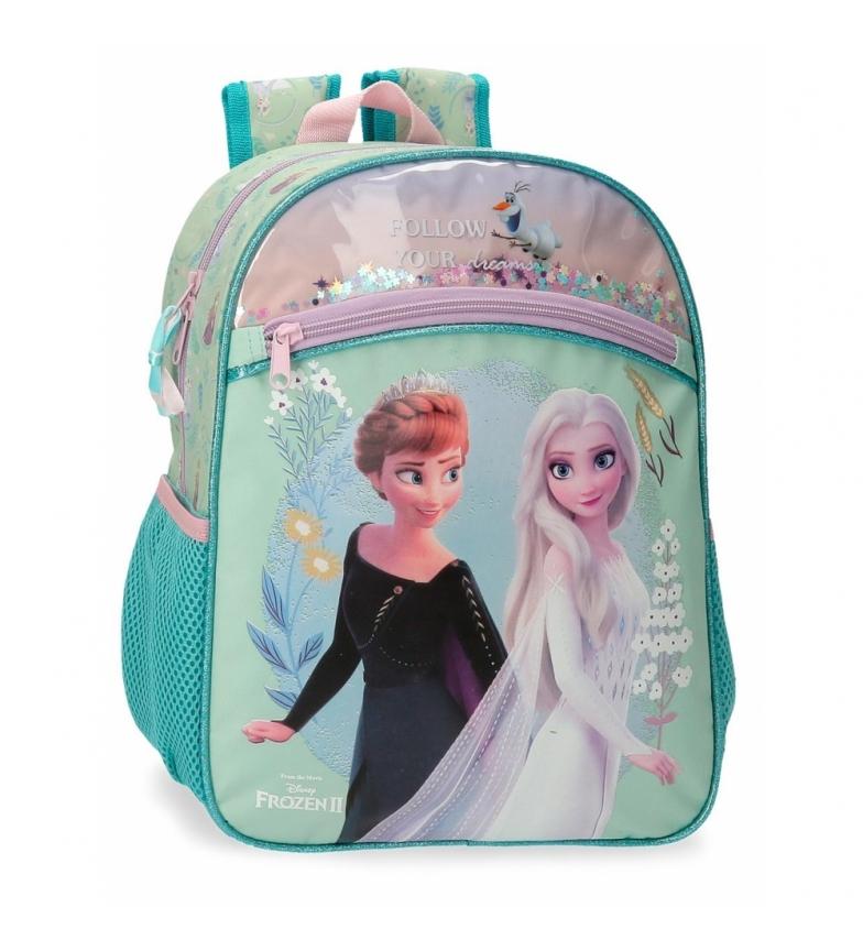 Joumma Bags Mochila Frozen Follow Your Dreams turquesa -27x33x11cm-