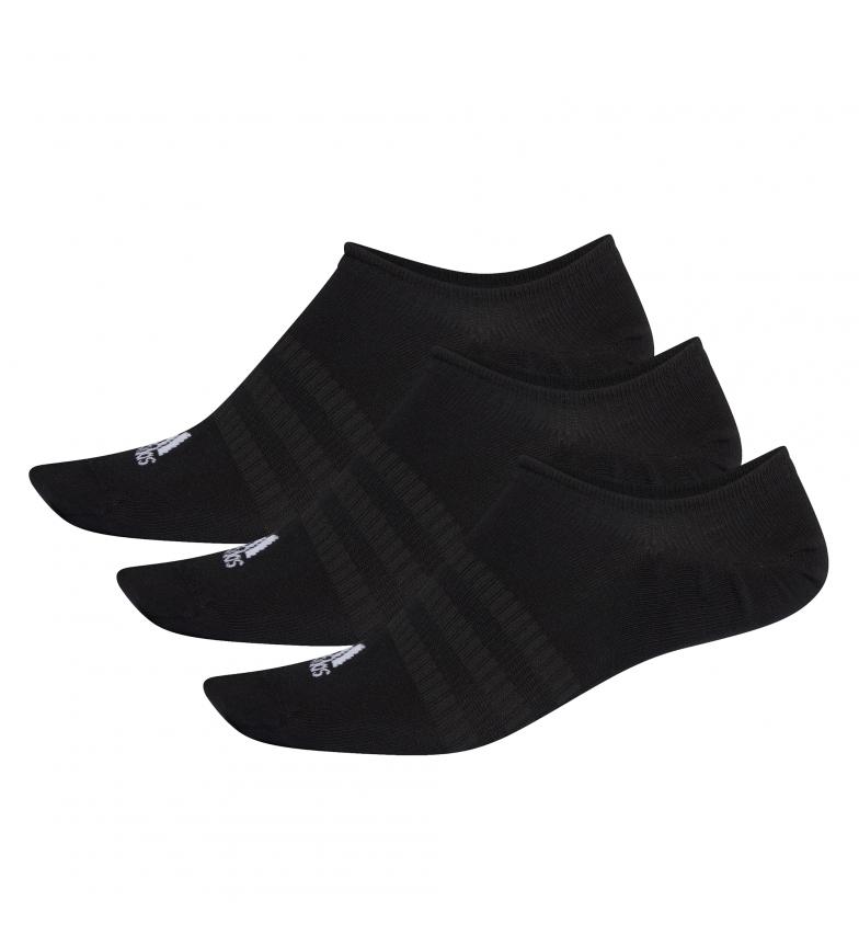 Comprar adidas Pacote de 3 pares de meias Light Nosh black