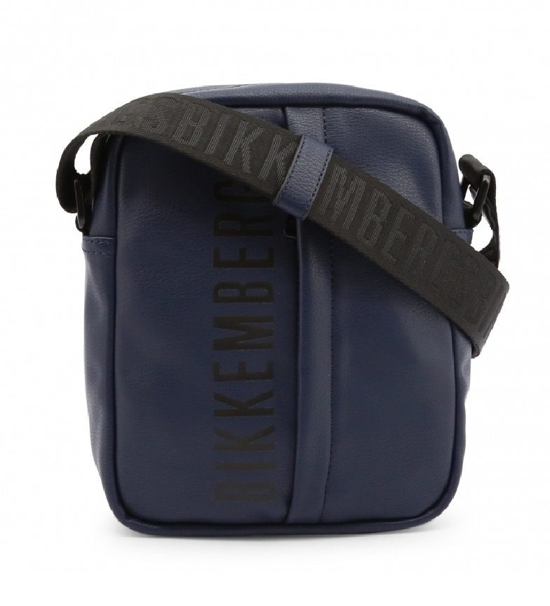Bikkembergs Saco de ombro E2BPME1N0012 azul -19x24x8cm