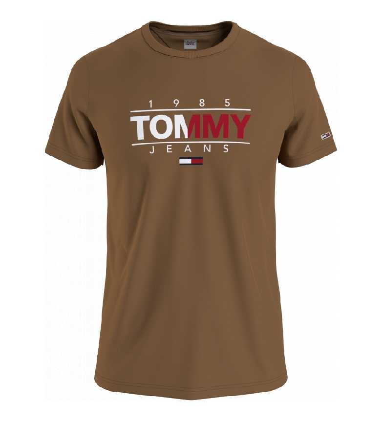 Tommy Hilfiger TJM Essential Graphic T-Shirt marron