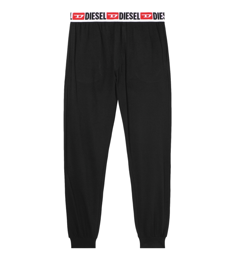Diesel Calça de pijama Umlb-July preta