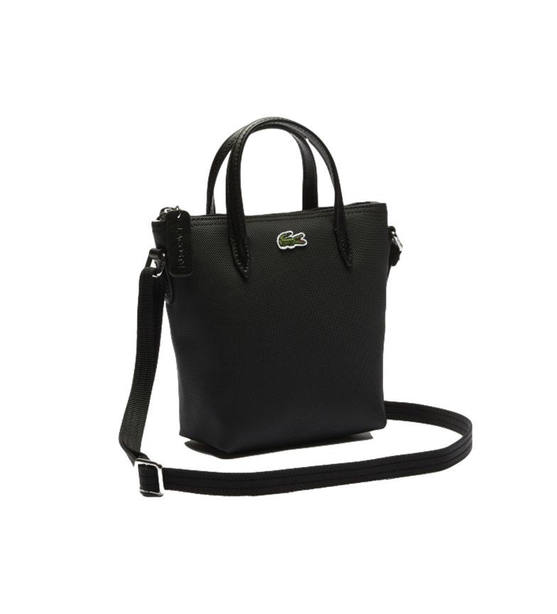 Lacoste Saco Tote bag XS preto -15 x 18 x 7 cm- preto