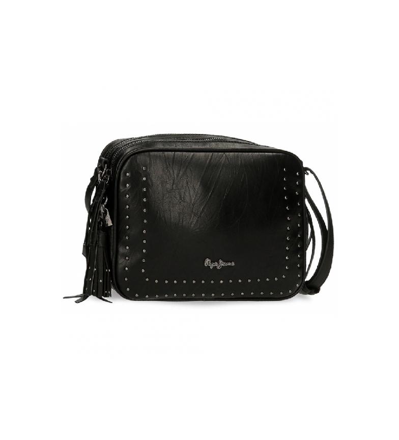 Pepe Jeans Borsa a tracolla Black Chic -25x18x6,5cm-