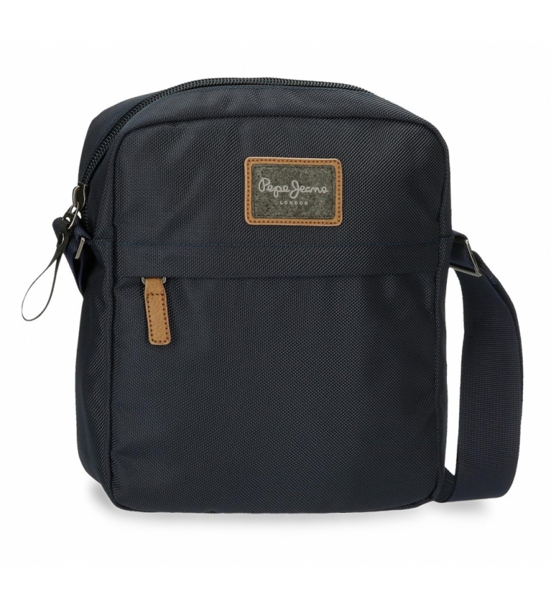 Pepe Jeans Portatablet Pick Up borsa a tracolla marina -23x27x7cm-