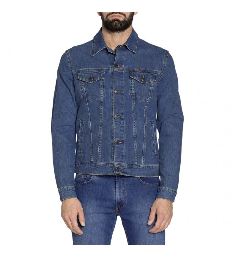Comprar Carrera Jeans Casaco de ganga 450-970A azul