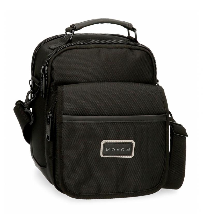 Movom Wall Street shoulder bag black -20x25x12cm