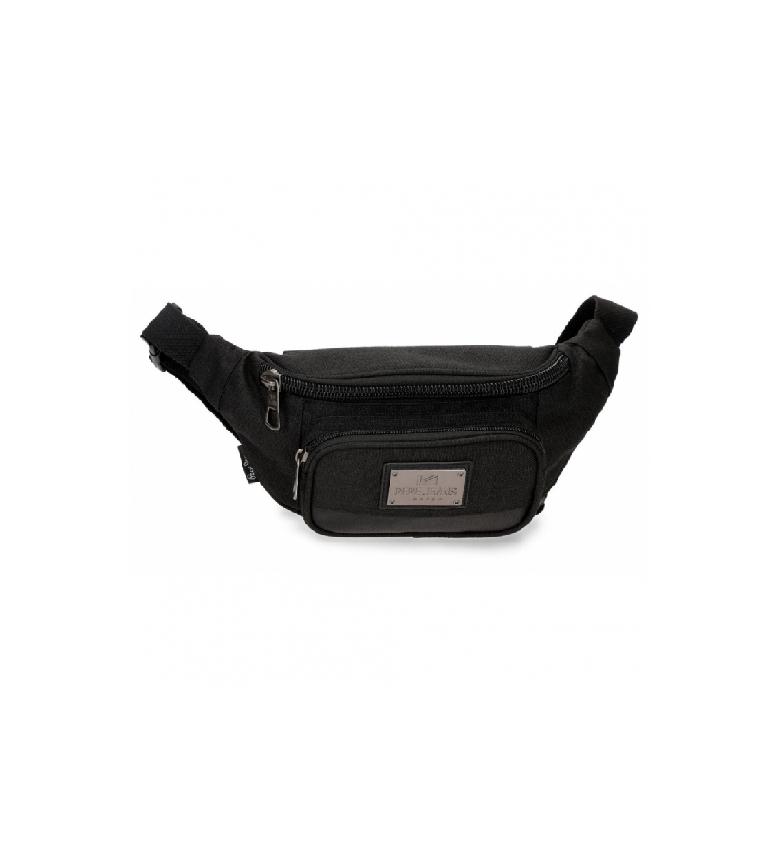 Pepe Jeans Scratch bum bag black -30x13x5cm