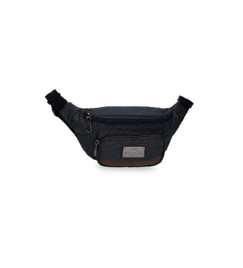 Pepe Jeans Scratch bum bag navy -30x13x5cm