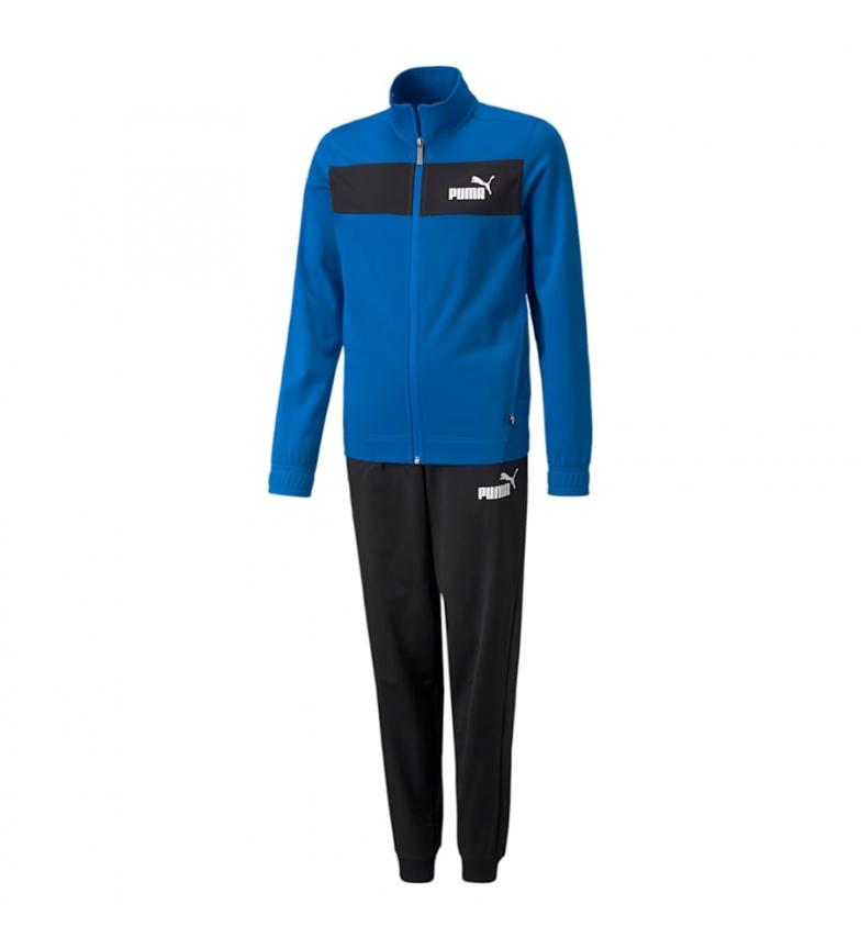 Puma Chándal Poly Suit cl B azul, negro