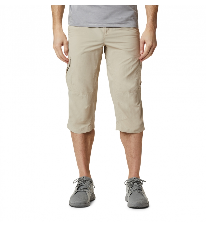 Columbia Pantaloni pirata Silver Ridge II beige