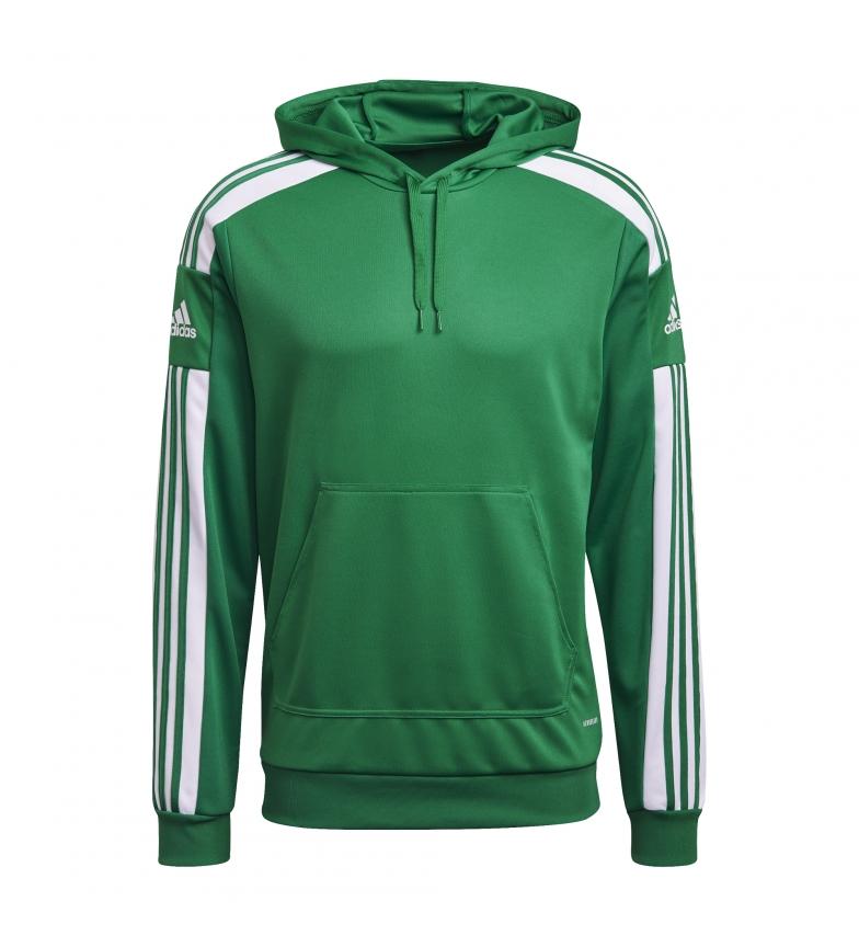 adidas Sweat à capuche SQ21 Capuche verte