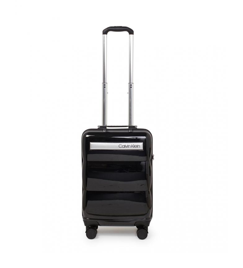Calvin Klein Dimensioni cabina Down To Fly nero -54x34,3x21,6cm