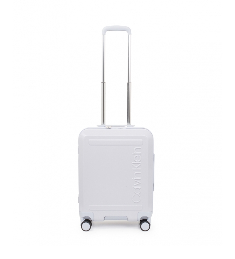 Calvin Klein Soho cabina cabina bianca valigia -52x39x20,3cm