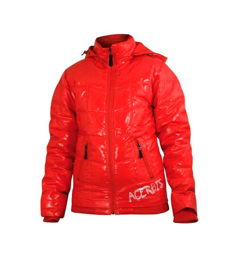 Acerbis Chaqueta acolchada impermeable ACERBIS Na-no Storm Lady rojo