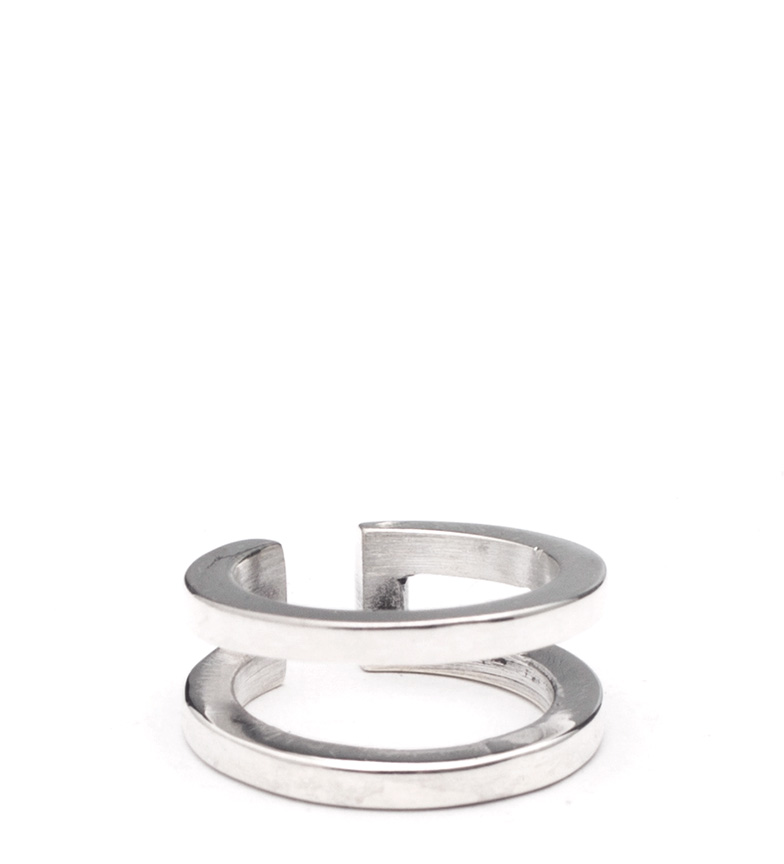 Comprar Prestige By Yocari Silver Duo ring
