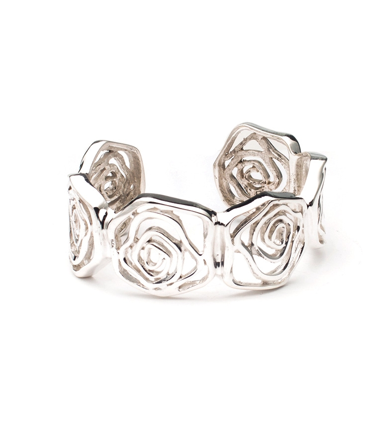 Comprar Prestige By Yocari Rosa pulseira de prata