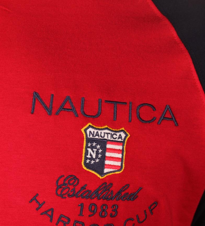 Nautica Shirt Havnen Kopp Rød, Navy